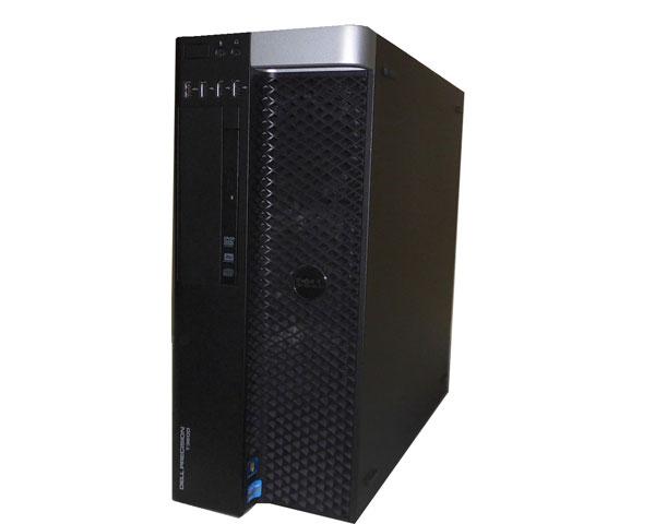 中古ワークステーション Windows7 Pro 64bit DELL PRECISION T3600 Xeon E5-1620 3.6GHz/16GB/500GB×2/Quadro2000