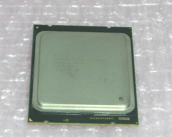 中古CPU Intel Xeon 宅送 E5-2687W 卸直営 動作品 SR0KG 3.10GHz
