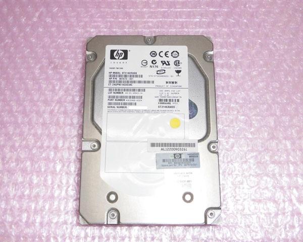 HP 487673-001 SAS 146GB 15K おトク 送料無料でお届けします 3.5インチ 中古ハードディスク