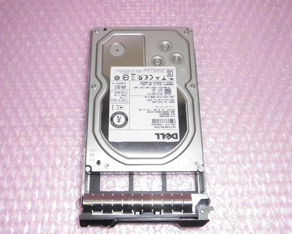 DELL 0WTJVY SAS 2TB スーパーSALE セール期間限定 限定価格セール 3.5インチ 中古ハードディスク 7.2K