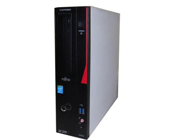 中古パソコン デスクトップ 本体のみ Windows10 Pro 64bit 富士通 ESPRIMO D753/H (FMVD06005) Core i5 4570 3.2GHz/4GB/320GB/DVDマルチ