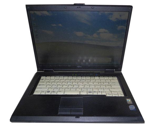 新作通販 外観難あり WindowsXP 中古ノートパソコン 値引き 富士通 LIFEBOOK FMV-A6255 FMVXNXU81 DVD-ROM 3GB Core2Duo 80GB 2.0GHz T7250