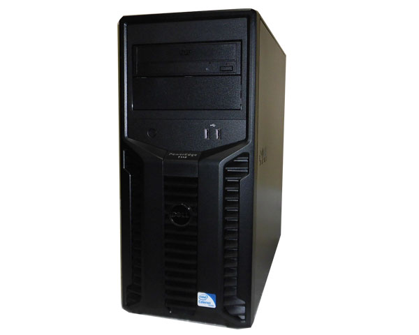 中古 DELL PowerEdge T110 Celeron G1101 2.26GHz 4GB 500GB DVD-ROM