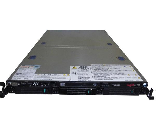 中古 東芝 MAGNIA 2515R (SYU4100B) Xeon E5205 1.86GHz 6GB HDDなし DVDコンボ