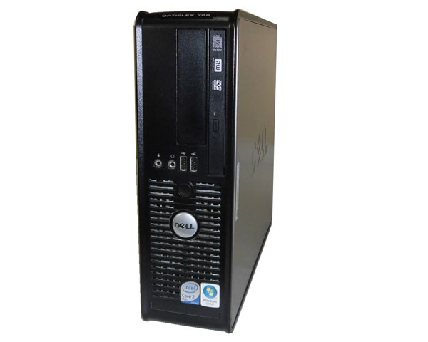 Vista DELL OPTIPLEX 755 SFF Core2Duo E6550 2.33GHz 1GB 80GB DVDマルチ 中古パソコン デスクトップ
