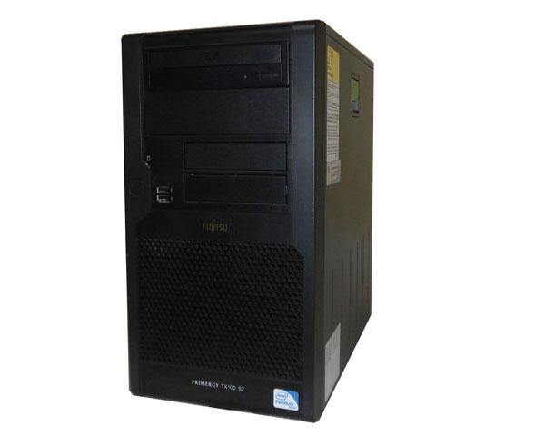 中古 富士通 PRIMERGY TX100 S2 PGT1024H6 Pentium-G6950 2.8GHz 4GB 160GB×2 (SATA) DVD-ROM