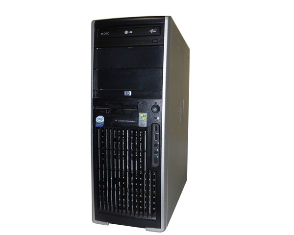 外観難あり OSなし HP WorkStation XW4400 Core2Duo 6300 1.86Ghz 1GB 250GB Quadro NVS285 中古ワークステーション
