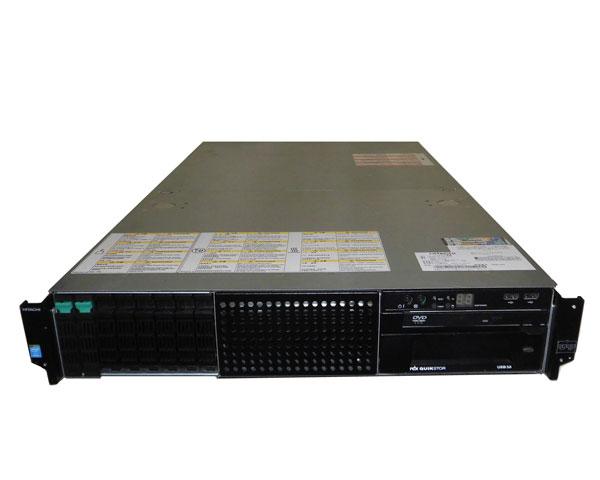 中古 HITACHI HA8000/RS220-h HM2 (GQU222HM-TNANNN2) Xeon E5-2630 V2 2.6GHz 8GB 300GB×2 (SAS 2.5インチ) DVD-ROM AC*2