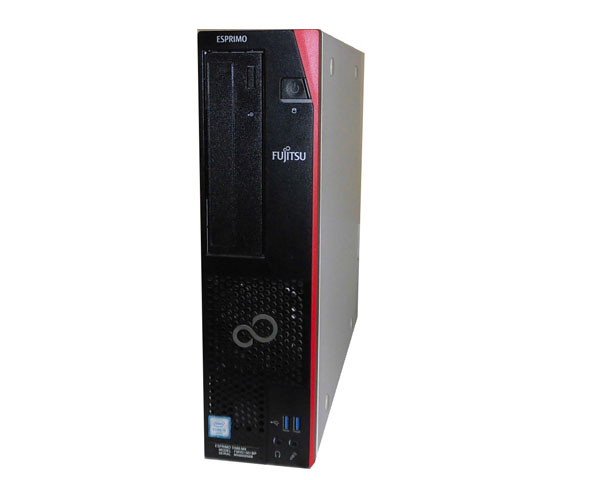 Windows10 Pro 64bit 富士通 ESPRIMO D586/MX(FMVD1501BP)第6世代 Core i5-6500 3.2GHz 8GB 500GB DVDマルチ 中古パソコン デスクトップ 本体のみ 良品