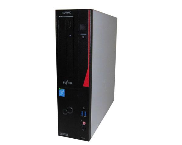 Windows10 Pro 64bit 富士通 ESPRIMO D583/K(FMVD12001)第4世代 Core i7-4790 3.6GHz 4GB 320GB DVD-ROM 中古パソコン デスクトップ 本体のみ