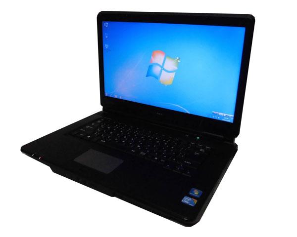 Windows7 NEC VersaPro VJ26ML-B (PC-VJ26MLNTLTLB) Core i5-560M 2.66GHz 2GB 新品SSD 120GB DVDマルチ 15.6インチ 中古ノートパソコン 中古PC