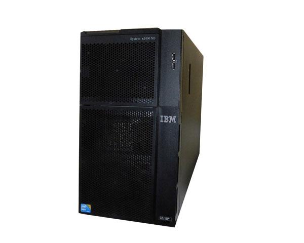 中古 IBM System x3400 M3 7379-54J Xeon E5620 2.4GHz 4GB 146GB×1 (SAS 2.5インチ) AC*2
