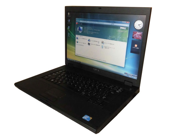 Vista DELL Latitude E5500 中古ノートパソコン Core2Duo T7250 2.0GHz 2GB 80GB DVD-ROM