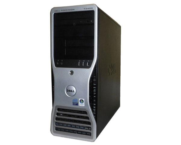 OSなし DELL PRECISION T3400 Core2Duo E6550 2.33GHz 2GB 160GB Quadro NVS290 中古ワークステーション