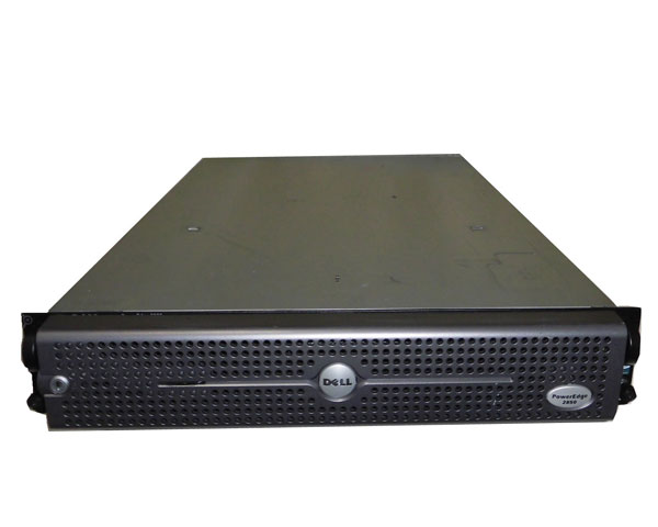 中古 DELL PowerEdge 2850 Xeon 2.8GHz 1GB HDDなし CD-ROM AC×2