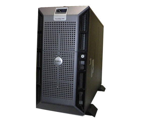 中古 DELL PowerEdge 2900 Xeon 5160 3.0GHz 2GB 160GB×2 (SATA 3.5インチ) DVDコンボ PERC 5i