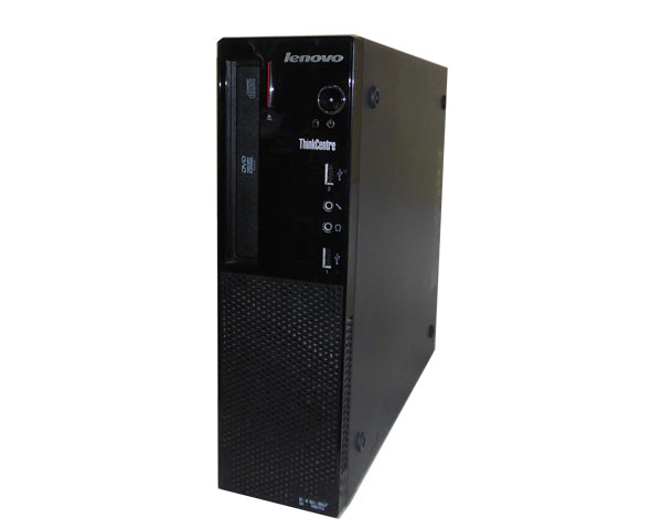 Windows10 Pro 64bit Lenovo ThinkCentre E73 Small 10AU-0064JP Core i3-4130 3.4GHz 2GB 500GB DVD-ROM 中古パソコン デスクトップ 本体のみ 中古PC Win10 レノボ