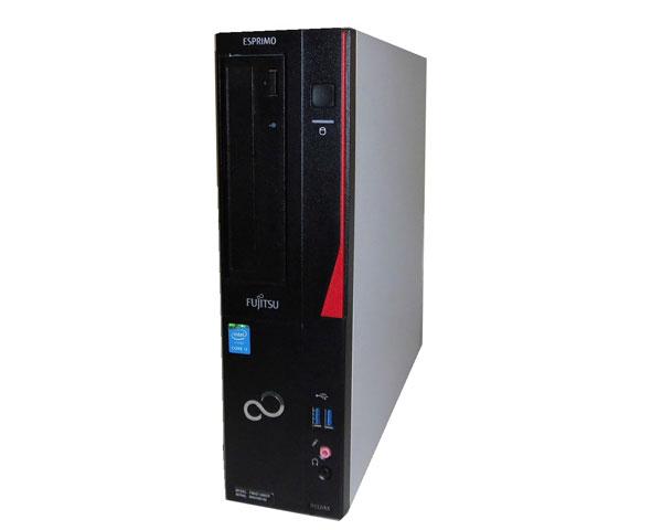 中古パソコン デスクトップ 本体のみ Windows10 Pro 64bit 富士通 ESPRIMO D552/KX (FMVD1305CP) 第4世代 Core i3-4170 3.7GHz 4GB 500GB DVDマルチ