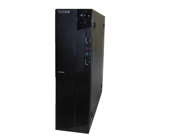 OSなし Lenovo ThinkCentre M77 1997-A83 AthlonIIX2 B26 3.2GHz 4GB HDDなし 光学ドライブなし 中古パソコン デスクトップ