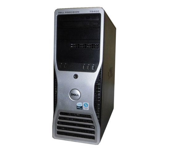 OSなし DELL PRECISION T5400 Xeon E5440 2.83GHz×2 8GB 320GB NVIDIA Quadro FX570 中古ワークステーション
