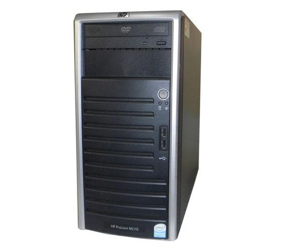 HP ProLiant ML110 G5 445607-B21 中古 Pentium-E2160 1.8GHz 1GB 160GB×2 (SATA) DVD-ROM