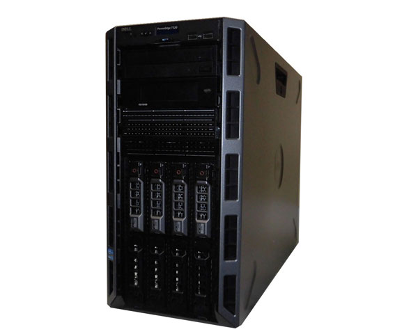 中古 DELL PowerEdge T320 Xeon E5-2420 1.9GHz 16GB 600GB×2 (SAS) DVDマルチ PERC H310