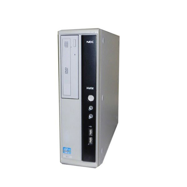 Windows7 Pro 32bit NEC Mate MJ33LL-F (PC-MJ33LLZCF) 第3世代 Core i3-3220 3.3GHz 2GB 250GB DVD-ROM 中古パソコン 中古PC デスクトップ 省スペース型 本体のみ