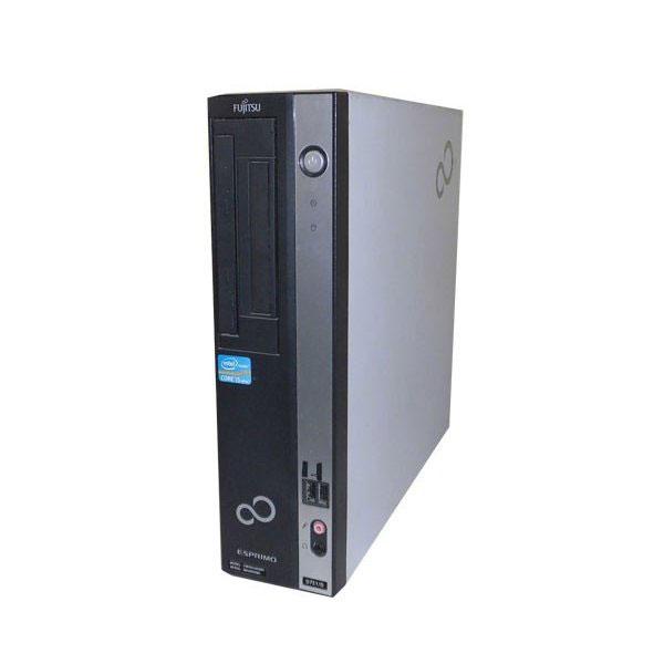 Windows7 富士通 ESPRIMO D751/D (FMVDH4N0E1) Core i5 2400 3.1GHz 4GB 250GB DVD-ROM 中古パソコン デスクトップ 本体のみ