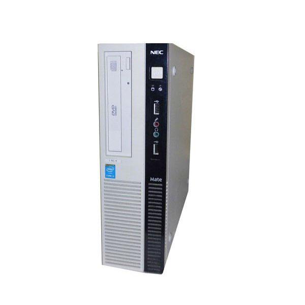 Windows7 Pro 32bit NEC Mate MJ36LL-M (PC-MJ36LLZCM) 第4世代 Core i3-4160 3.6GHz 2GB 500GB DVD-ROM 中古パソコン 中古PC デスクトップ ビジネスPC 省スペース型 本体のみ