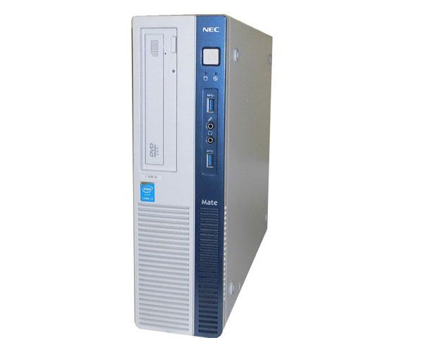 Windows10 Pro 64bit NEC Mate MJ37LB-N (PC-MJ37LBZDN) 第4世代 Core i3-4170 3.7GHz 2GB 500GB DVD-ROM 中古パソコン デスクトップ ビジネスPC 中古PC 省スペース 本体のみ