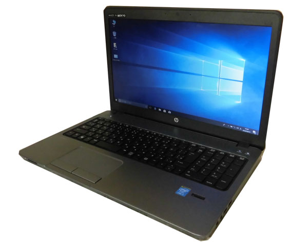 HP ProBook 450 G1 (F2M07AV) テンキー付き Windows10 Pro 64bit 第4世代 Core i3-4000M 2.4GHz 4GB 500GB DVDマルチ WPS Office付き 中古ノートパソコン 中古PC ノート 良品