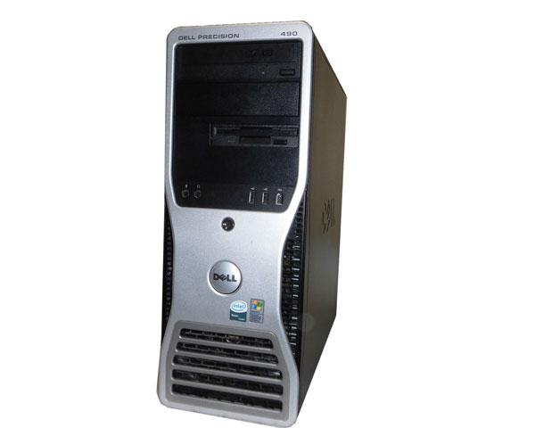 DELL PRECISION 490 WindowsXP Pro 64bit Xeon E5320 1.86GHz×2 8GB 500GB Quadro NVS285 中古ワークステーション