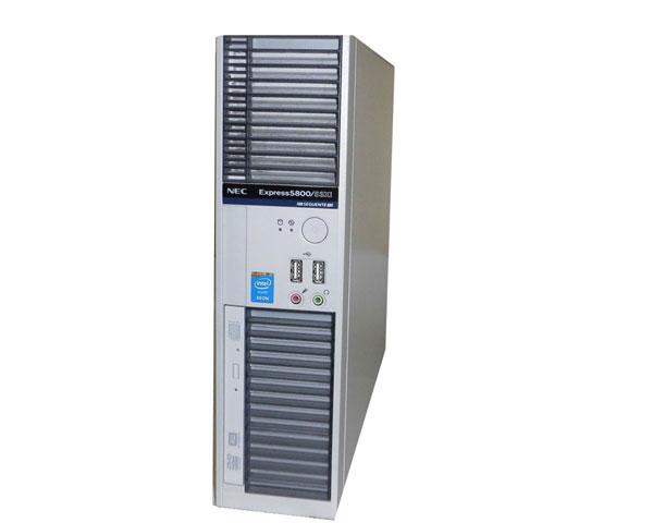 Windows10 Pro 64bit NEC Express5800/53Xi (N8000-6308) Xeon E3-1275 V3 3.5GHz 8GB 500GB(SATA) DVDマルチ Quadro K2200 中古ワークステーション