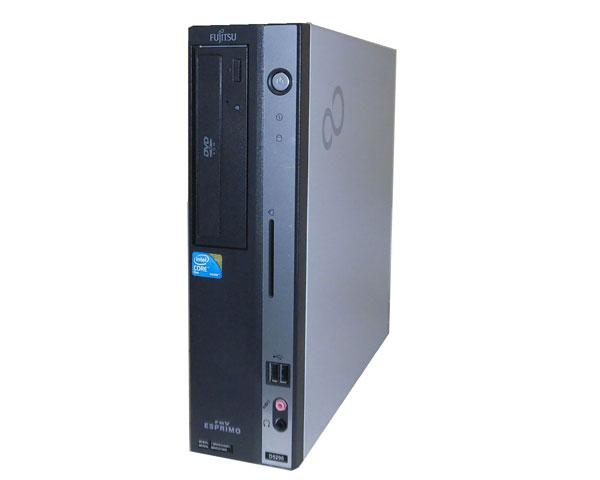 Windows7 富士通 ESPRIMO FMV-D5290 (FMVDD2A0G1) Core2Duo-E8400 3.0GHz 4GB 160GB DVD-ROM 中古パソコン デスクトップ 本体のみ 中古PC