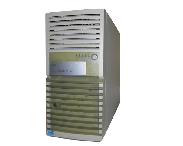 外観難あり 中古 NEC Express5800/T110a (N8100-1557) Xeon-E3110 3.0GHz 4GB 1TB