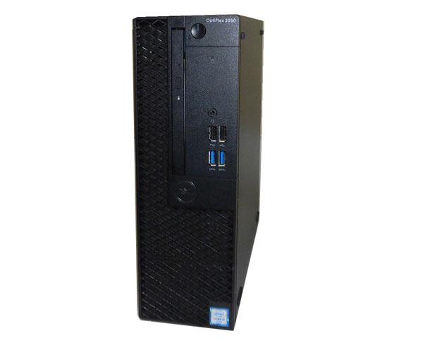 DELL OPTIPLEX 3050 SFF Windows10 Pro 64bit 第6世代 Core i3-6100 3.7GHz 4GB 500GB DVDマルチ 中古パソコン デスクトップ 中古PC