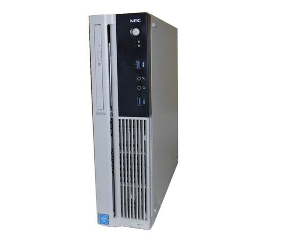 Windows10 Pro 64bit NEC MATE MK28EA-T (PC-MK28EAZDT) Celeron G3900 2.8GHz 4GB 500GB DVD-ROM 中古パソコン デスクトップ 中古PC 本体のみ