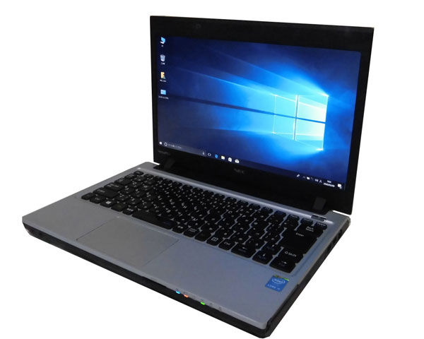 Windows10 Pro 64bit NEC VersaPro VJ27MC-K (PC-VJ27MCZNK) 第4世代 Core i5-4310M 2.7GHz 8GB 1TB DVD-ROM WPS Office付き 13.3インチ 高解像度 HD+(1600×900) 中古ノートパソコン 軽量モバイル 中古PC