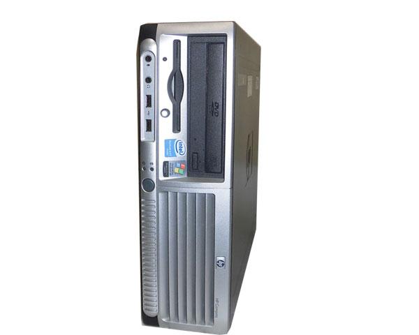 OSなし HP dc5100 SFF (BB229PA#ABJ) Pentium4-2.8GHz 512MB 80GB DVD-ROM