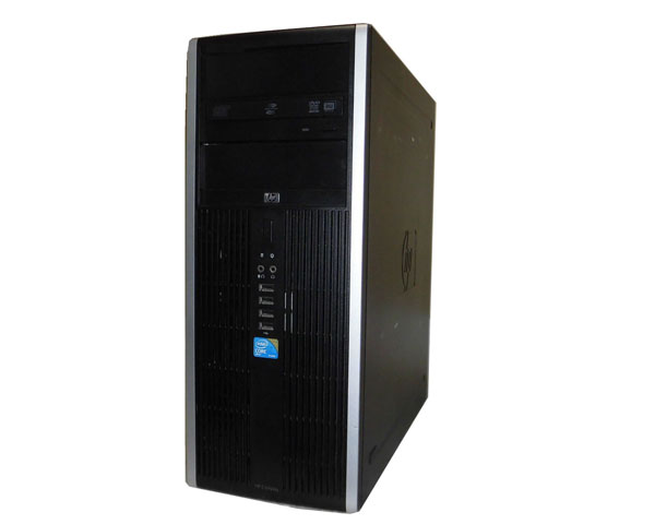 Windows7 Pro 32bit HP Compaq 8100 Elite CMT Core i7-870 2.93GHz 4GB 250GB DVD-ROM GeForce GT220 中古パソコン デスクトップ 本体のみ タワー型