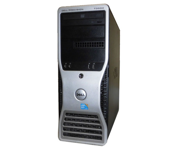 Windows7 Prp 32bit DELL PRECISION T3500 中古ワークステーション Xeon W3503 2.4GHz 2GB 500GB DVD-ROM FirePro 2260