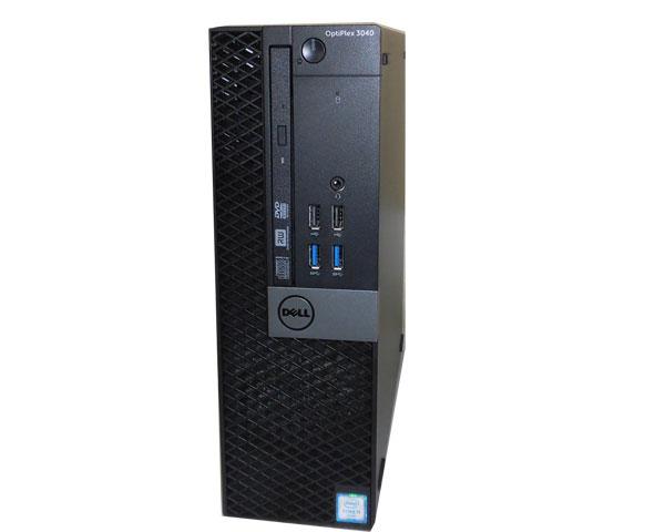 外観難あり デル DELL OPTIPLEX 3040 SFF Windows10 Pro 64bit 第6世代 Core i3-6100 3.7GHz 4GB 500GB DVDマルチ 中古パソコン デスクトップ 中古PC 本体のみ