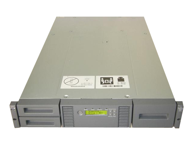 HP StorageWorks MSL2024【中古】LTO4 Tape Library(AK378A) Ultrium 1760 SAS