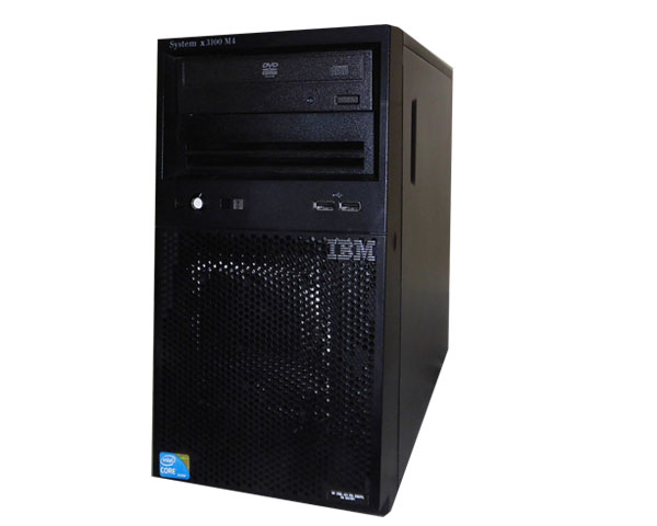IBM System x3100 M4 2582-PCL 中古 Core DVD-ROM 4GB SATA 格安SALEスタート 供え i3-2120 500GB×2 3.3GHz