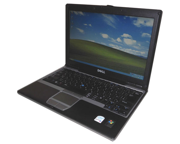 中古パソコン ノート WindowsXP DELL Latitude D430 Core2Duo U7600 1.2GHz/1GB/40GB/光学ドライブなし/12.1インチ/無線LAN/ノートパソコン