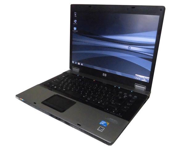 Windows7 HP Compaq 6730b (VZ148PA#ABJ) 中古ノートパソコン Core2Duo P8700 2.53GHz 2GB 160GB DVD-ROM