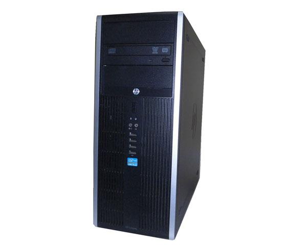 Windows10 Pro 64bit HP Compaq Elite 8300 CMT (QV993AV) Core i5-3470 3.2GHz 4GB 500GB×2 DVDマルチ タワー型