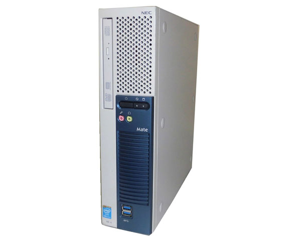 中古パソコン デスクトップ 省スペース型 本体のみ Windows10 Pro 64bit NEC Mate MK32ME-H (PC-MK32MEZDH) Core i5-4570 3.2GHz 4GB 250GB DVDマルチ