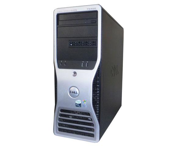 外観難あり 中古ワークステーション WindowsXP Pro 64bit DELL PRECISION T5400 Xeon X5460 3.16GHz 8GB 146GB×2(SAS) SAS6iR DVD-ROM Quadro FX3700