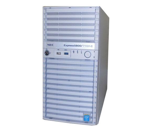 中古 NEC Express5800/T110f-E (N8100-2003Y) Xeon E3-1220 V3 3.1GHz 8GB 300GB×1 (SAS 2.5インチ) DVD-ROM